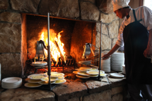 fireside dining | Gather Nosh and Savor