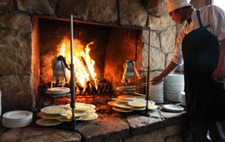 fireside dining | Gather Nosh and Savor