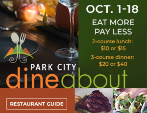 'Dine About' in Park City